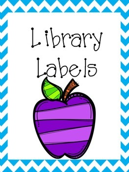 Library Lables