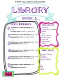 Library Lesson Plans K-5 Week 5
