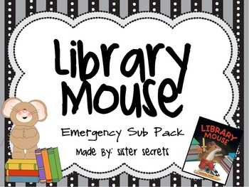 Library Mouse Emergency Sub Pack