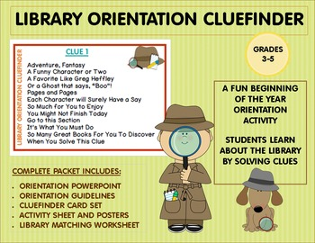 Library Orientation Cluefinder