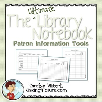 Ultimate Library Notebook: Patron Information Tools
