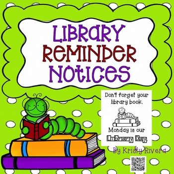 Library Reminder Notices