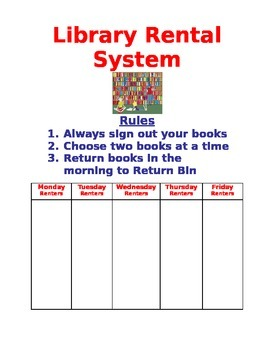 Library Rental System