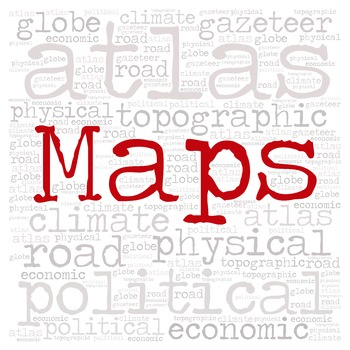 Library Sign:  MAPS