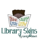 Library Signs