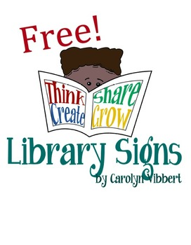 Library Signs Free!