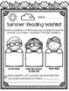 Library No Prep Printables- Summer Themed