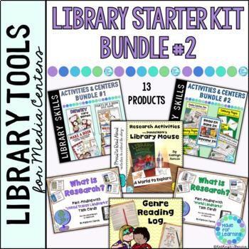 Library Starter Kit BUNDLE #2 for the Elementary School Li