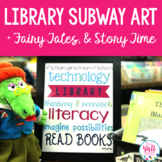 Subway Art for Library, Story Time, and Fairy Tales