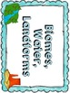 Library Task Cards: Science Research: Biomes, Water and Landforms