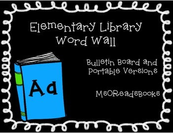 Library Word Wall