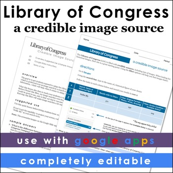 Library of Congress Credible Image Search