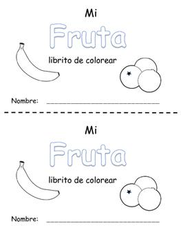 Librito de Fruta