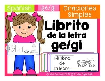 Librito ge-gi {Oraciones Simples}