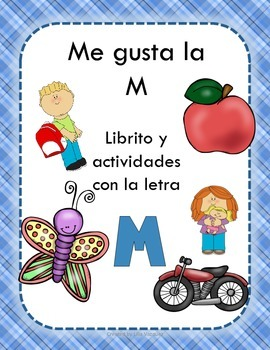 Librito y actividades con la letra M