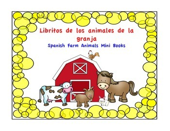 Libritos de los animales de la granja–Spanish Farm Animals