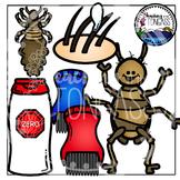 Lice Clipart Bundle