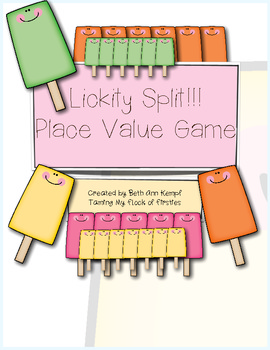 Lickity Split!!! Place Value Game