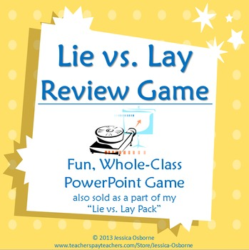 Lie vs. Lay Game