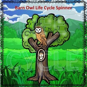 Barn Owl Life Cycle (Peekaboo Spinner Wheel)