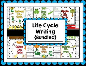 Life Cycle Bundle {Apple, Frog, Pumpkin, Plant, Sunflower,