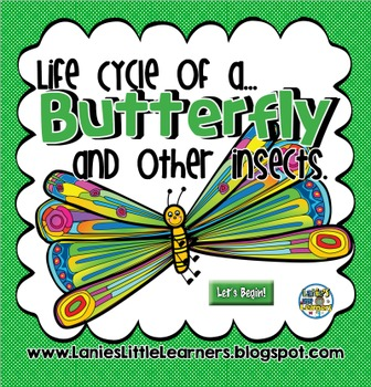 Life Cycle of a Butterfly and Other Insects { SMARTBoard A