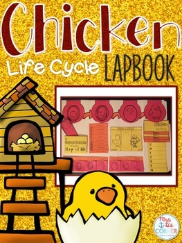 Life Cycle of a Chicken Lapbook {with 10 foldables} Chicke