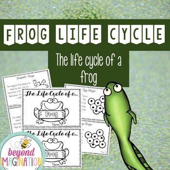 Life Cycle of a Frog | 52 Pages for Differentiated Learnin