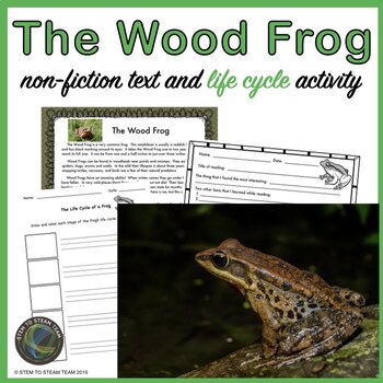 Life Cycle of a Frog:  Informational Reading and Activities
