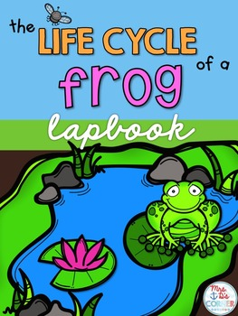 Life Cycle of a Frog Lapbook {with 13 foldables} Frog Life