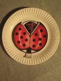 Life Cycle of a Ladybug. Fun Facts and Paper Plate Craft Art