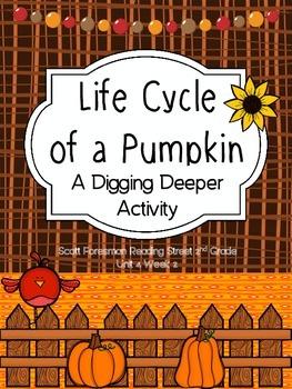 Life Cycle of a Pumpkin - Scott Foresman 2nd Grade - Diggi