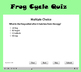 Life Cycle of the Frog | Smartboard Activity