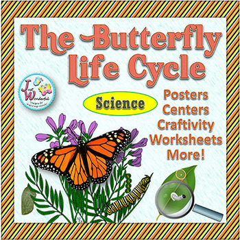 Butterfly Life Cycle - Mini Unit with Craftivity