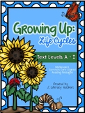 Life Cycles: CCSS Aligned Leveled Reading Passages and Activities