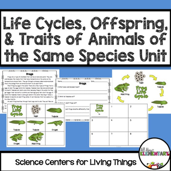 Life Cycles, Comparing Offspring to their Parents, & Trait
