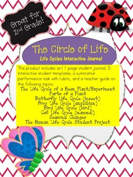 Life Cycles Interactive Journal