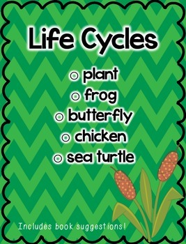 Life Cycles Mini Pack