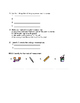 Life Cycles Quiz and Answer Key