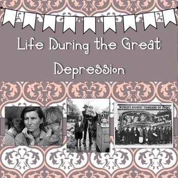 Life During the Great Depression PowerPoint
