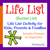 Life List (Bucket List) Activity