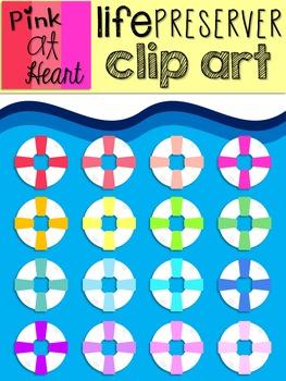 Life Preserver Clip Art