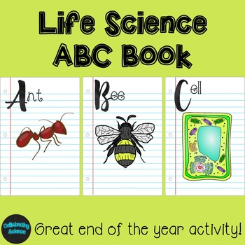 Life Science ABC Book project