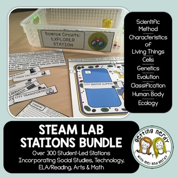 Life Science Centers / Lab Stations Bundle - Cross-curricu