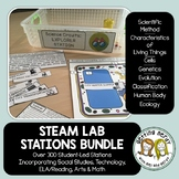 Life Science Centers / Lab Stations Bundle - STEAM Cross-c