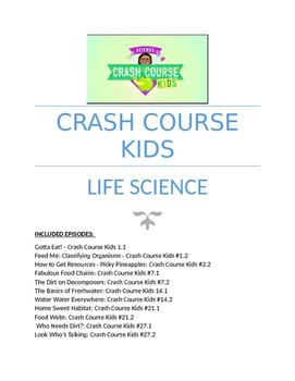 Life Science: Crash Course Kids Youtube Questions _ 13 Epi