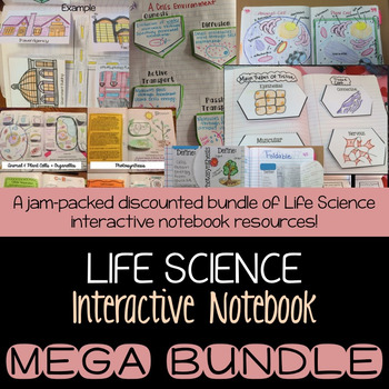 Life Science Interactive Notebook MEGA BUNDLE