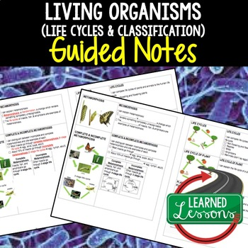 Life Science Living Organisms Life Cycles Plants Flowers G