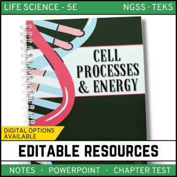 Cell Processes & Energy: Life Science Notes, PowerPoint an