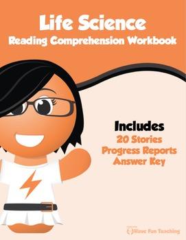 Life Science Reading Comprehension Bundle